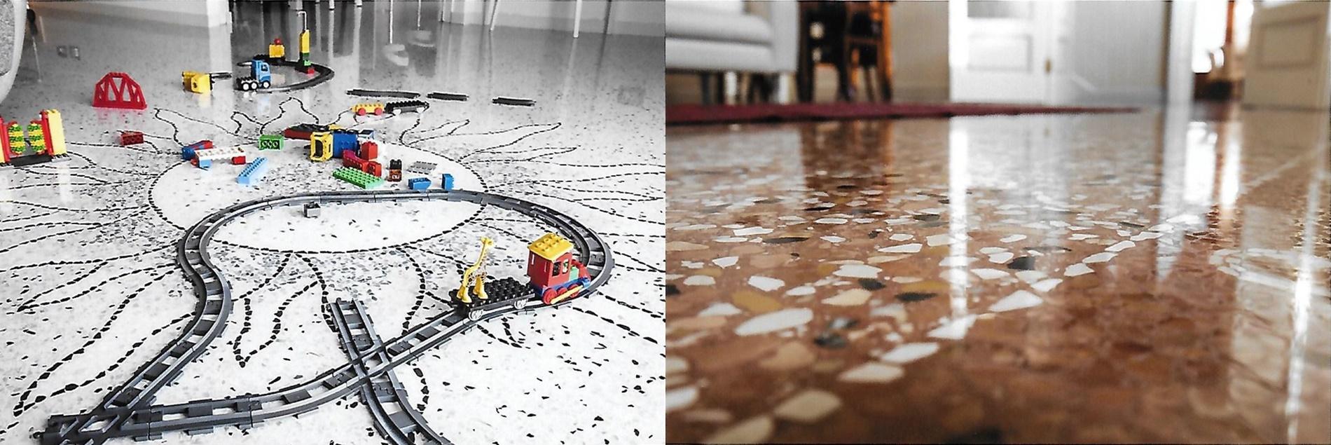 Bmz realizza pavimenti e terrazzi alla veneziana, restauro pavimenti